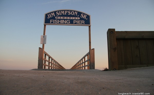 John Simpson, Sr. Memorial Fishing Pier A Walk To The Gulf