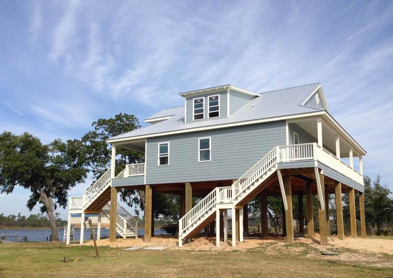 Custom homes by thornhill construction for Mississippi gulf coast home builders